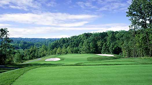 Golf Coure Design at the Woodlands Golf Course, Woodland Maryland